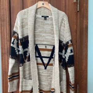 Forever 21 Big Lebowski cardigan sweater